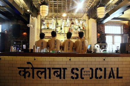 The first one - the Colaba Social